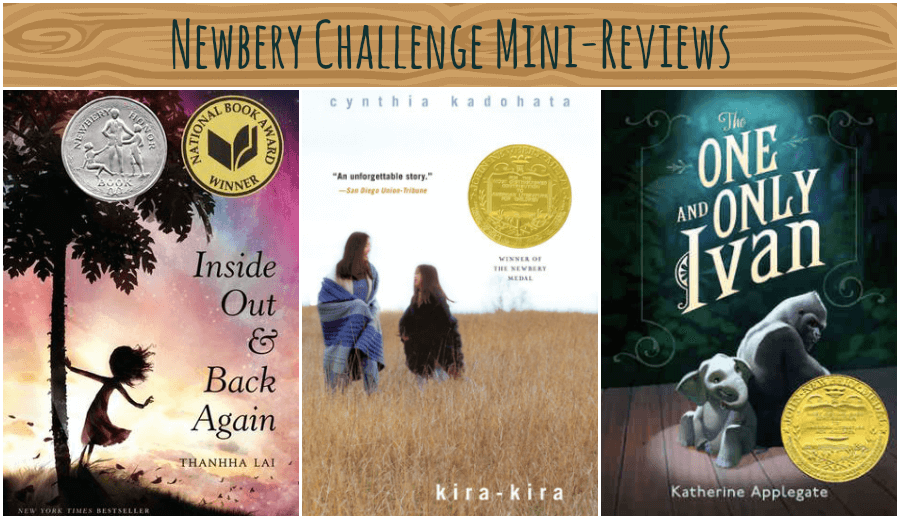 Newbery Challenge Mini-Reviews