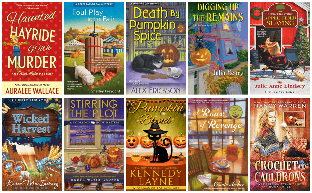 book covers with fall vibes
