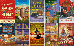 Book Covers with Fall Vibes: Cozy Mystery Edition