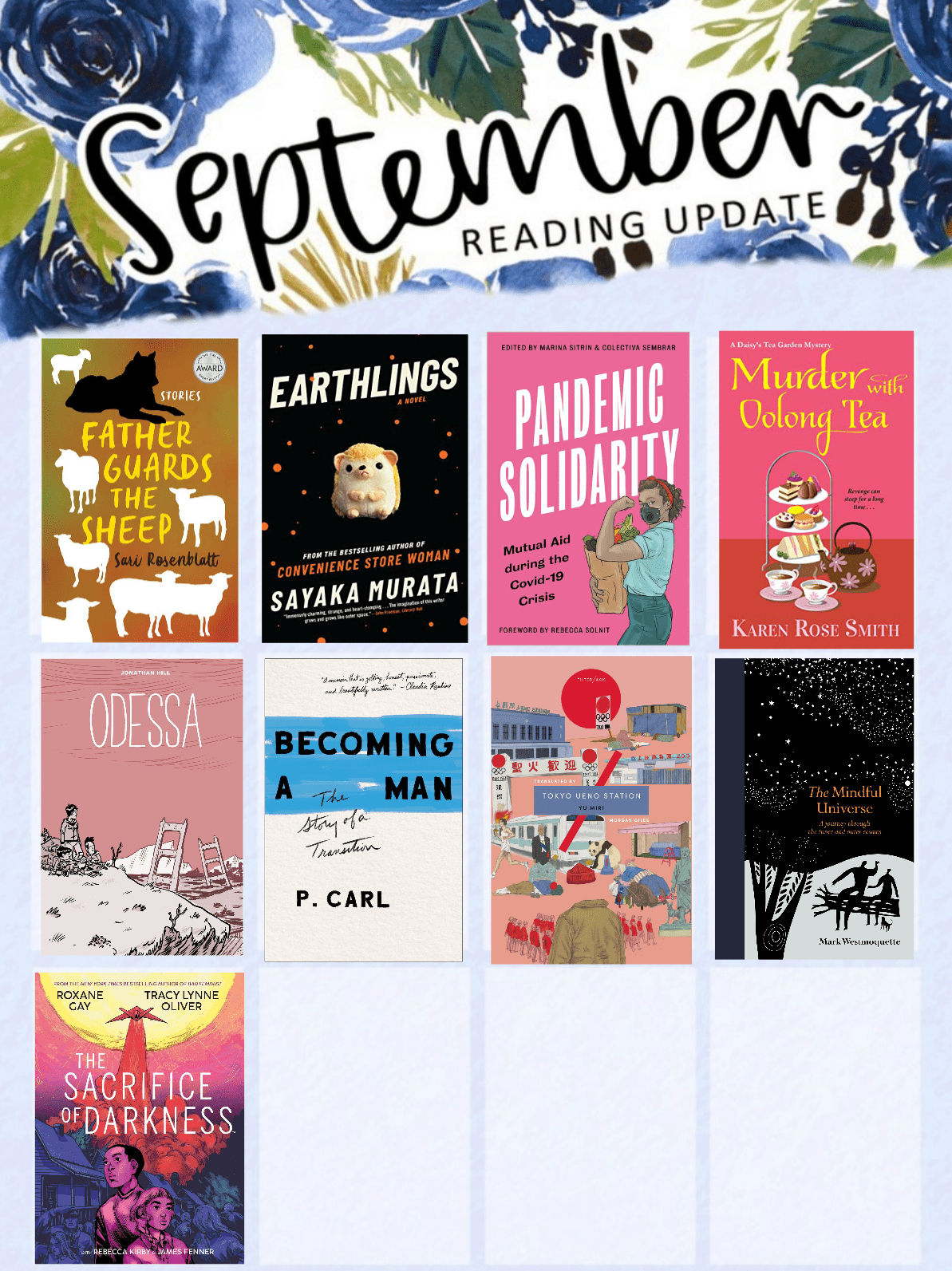 Read more about the article September 2020 Reading Wrap-Up