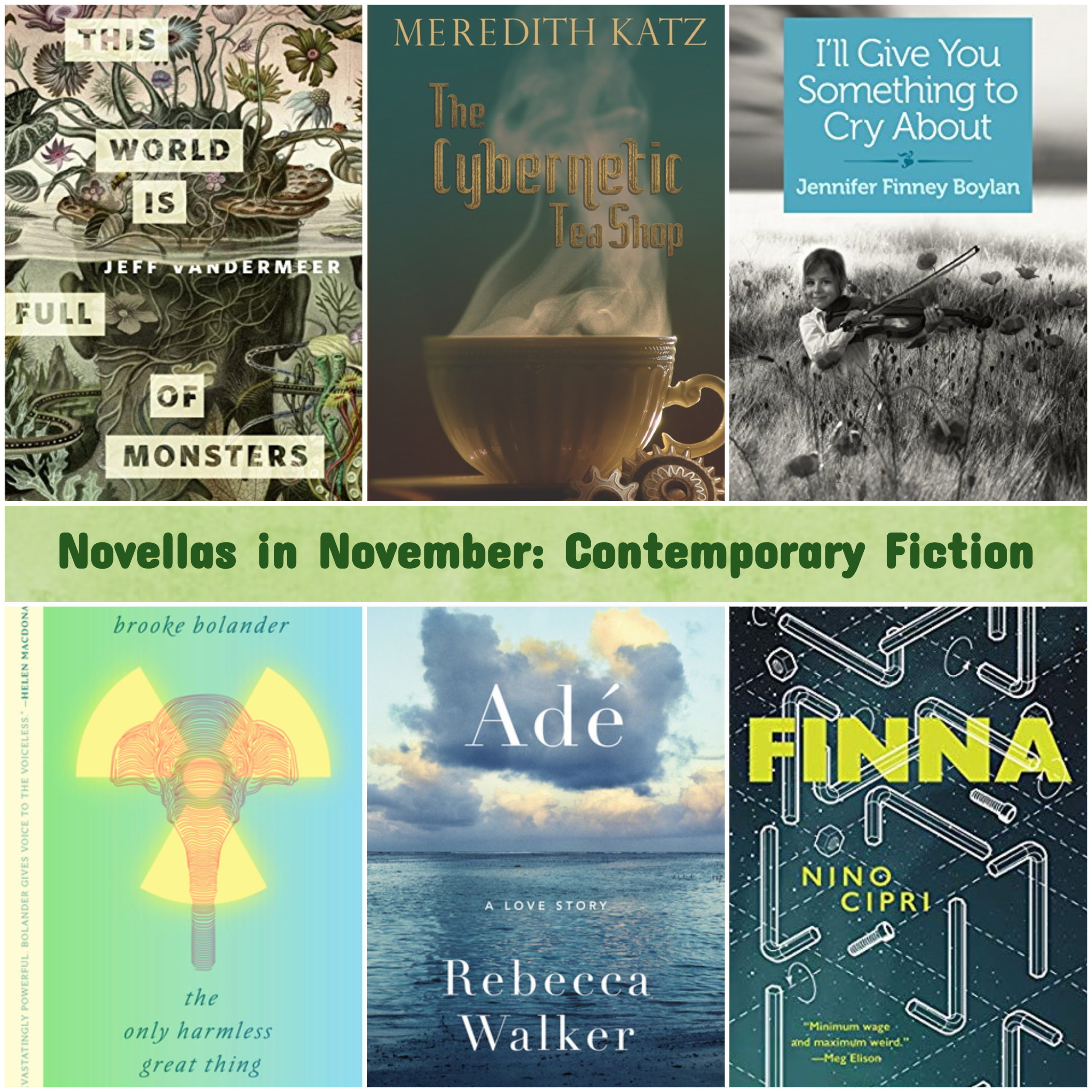 Novellas in November: Contemporary Fiction