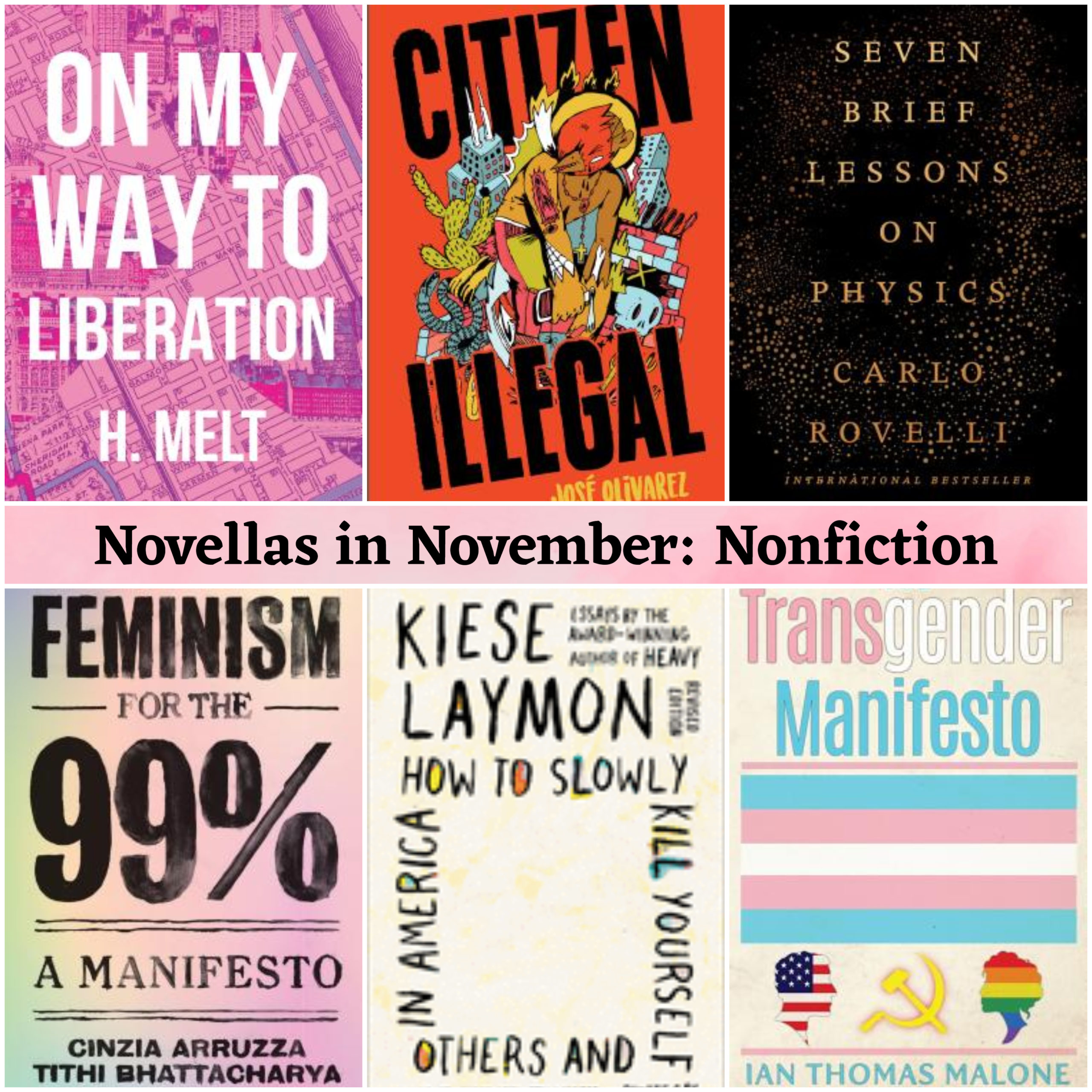 Novellas in November: Nonfiction