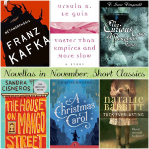 Novellas in November: Short Classics